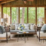 Designer Daniel Keeley helps a family create a camp-style retreat amidst a natural setting in Jasper, Arkansas