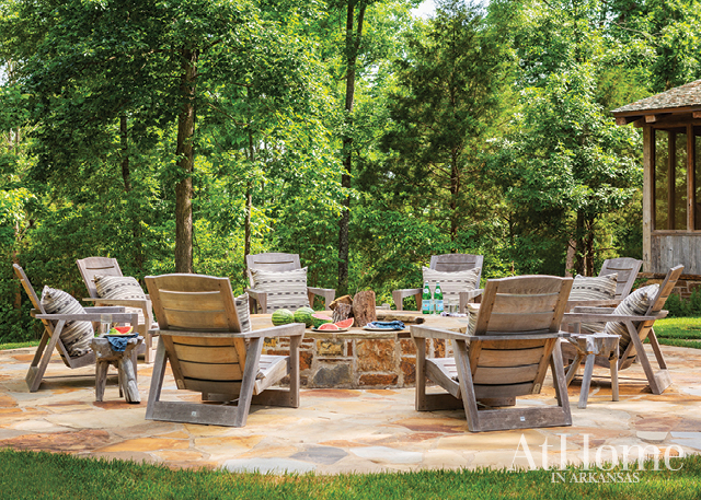 Daniel Keeley designed this liveable summer-camp inspired getaway in Jasper, Arkansas.