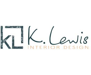 K. Lewis Interior Design Logo