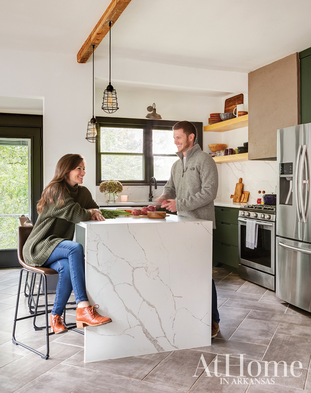 00e0a93ca4b That s how At Home in Arkansas art director Lauren Cerrato describes her  personal style and the vibe of the 1920s Hillcrest Craftsman cottage she  shares ...